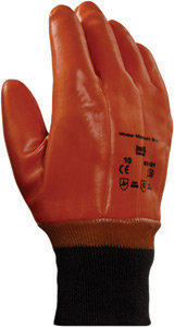 Ansell Size 10 Brown Winter Lined Gloves