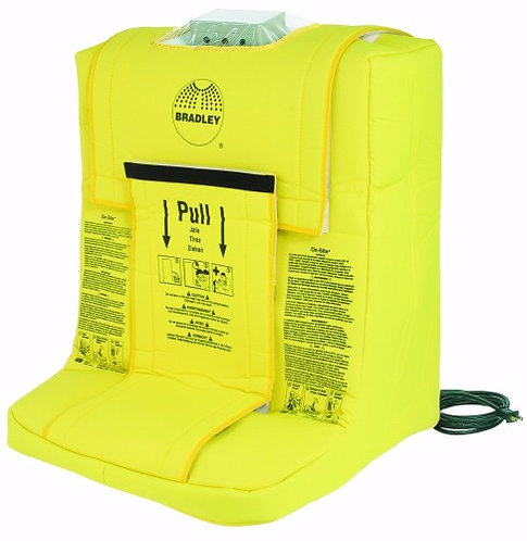 Bradley On-Site Self Contained Portable Gravity Fed Eye Wash Station