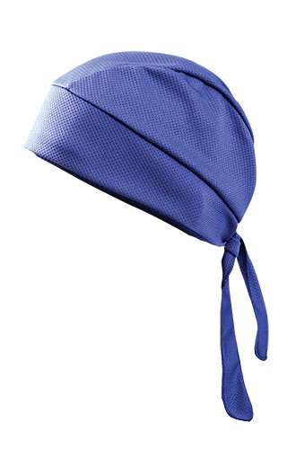 OccuNomix Navy Polyester Cooling  & Wicking Skull Cap With Tie Closure