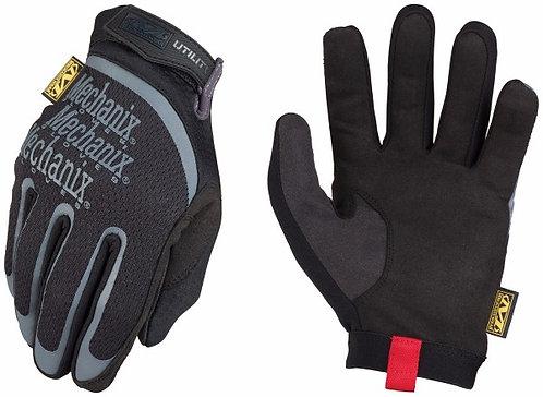 Mechanix Wear Medium Black Utility Full Finger Synthetic Leather