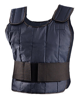 OccuNomix One Size Fits All Navy Cotton Cooling Vest