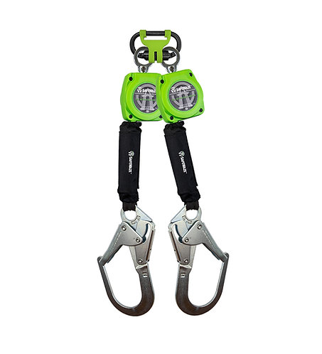 6' Web Dual Leg Retractable with Steel Rebar Hooks & FS1014 BWB