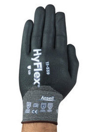 Ansell Sz 8 HyFlex Cut Resistant Gloves With Nitrile Coating