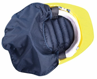 OccuNomix Blue Miracool  Deluxe Hard Hat Pad With Hook  & loop Closure