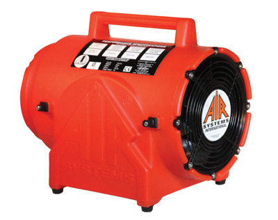 "ASI 8"" 848 cfm 1/4 hp 12 VDC 19 Amps  Ventilation Fan"