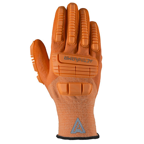 Ansell Sz 10 Hi Viz Orange Polyester & Nylon Cut Resistant Gloves