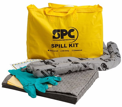 "20"" X 16"" X 4"" Bag  Hazwik Hi-Viz Yellow PVC Economy Portable Spill Kit"