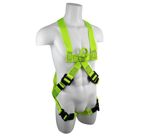 Arc Flash Dielectric Pull-Over/Cross-Chest Harness with Quick-Connect Legs 3XL
