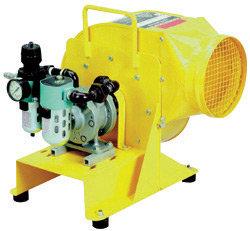 ASI Saddle Vent 3000 cfm Pneumatic Blower Kit