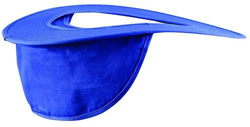 OccuNomix Blue Cotton Hard Hat Shade