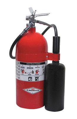 Amerex  10 # Stored Pressure Carbon Dioxide 10-B:C Fire Extinguisher