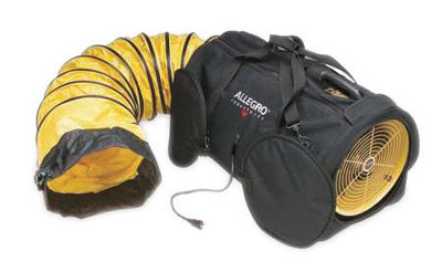"""Allegro 12"""" Polyester Air Bag With Built-In Duct"""