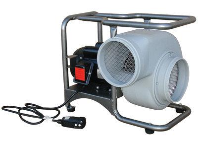 "ASI Saddle Vent 8"" 1390 cfm 115 VAC 60 Hz Economy Single Speed Blower"