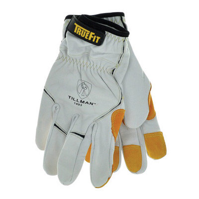 Tillman  X-Large White And Yellow 1493 TrueFit
