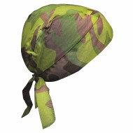 OccuNomix Jungle Camouflage Tuff Nougies 100% Cotton Doo Rag Tie Hat