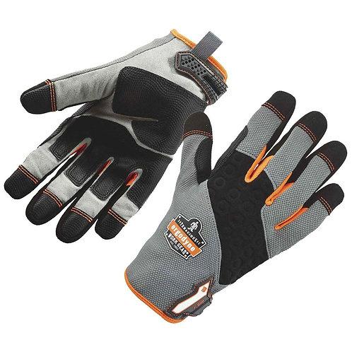 Ergodyne X-Large Black/Gray/Orange ProFlex Tena-Grip  Full Finger