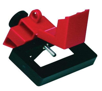 Brady Red Impact Modified Glass Filled Nylon & Poly Oversized Breaker Lockut