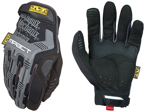 Mechanix Wear Large Black And Gray M-Pact