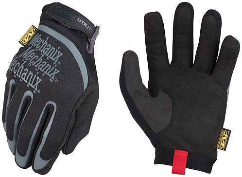 Mechanix Wear Large Black Utility Full Finger Synthetic Leather