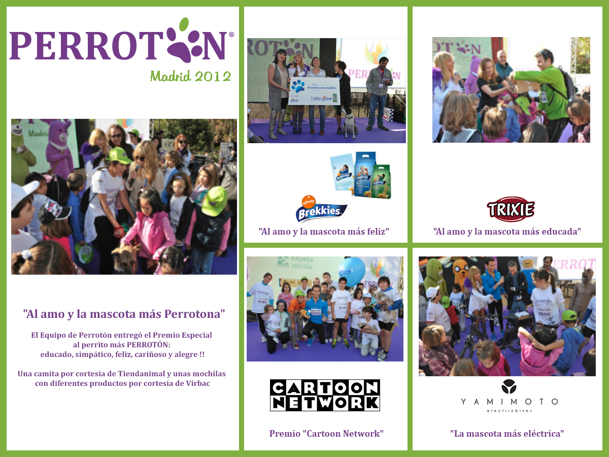 PREMIOS PERROTÓN MADRID 2012