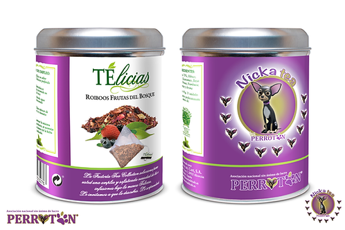 Nicka Tea : Roiboos de frutas del Bosque