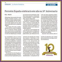 LA RAZON Perrotón España 10º Aniversar