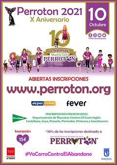 CartelPerroton2021 ECI Deporticket y fev