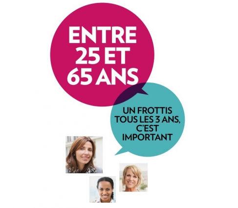 dépistage cancer col utérus juin mauve #FrottisFrottas