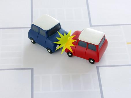 交通事故に遭ったら・・