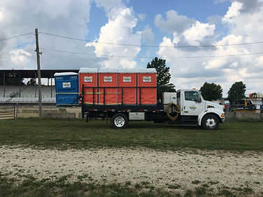 Portable Toilet Delivery, Pickup