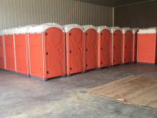 Brand New Portable Toilets Polyportables Axxis