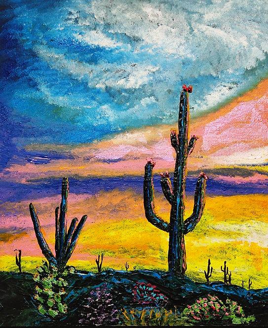 Sunrise cactus - Filiph Jakobsson
