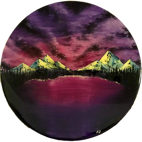 Purple sky - Filiph Jakobsson