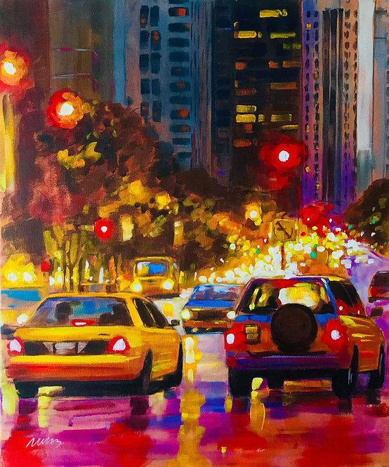 New York taxi - Markus Jakobsson