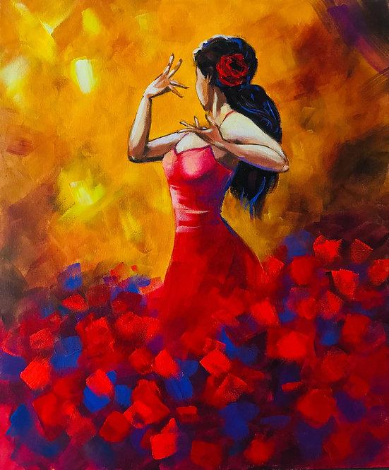Tango flame - Linnéa Carlsson