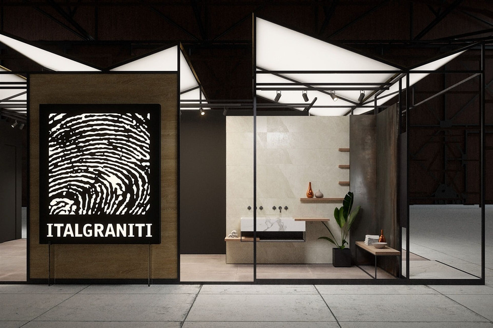 Italgraniti Stand for Cevisama 2018