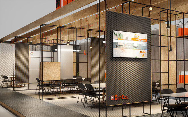 Cercol Stand for Cersaie 2018