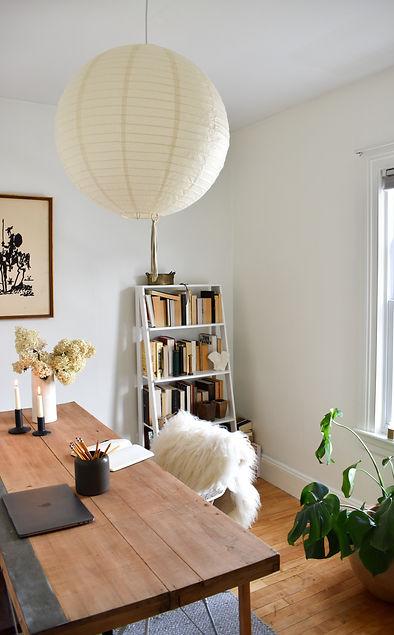 mid-century home office