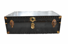 Old war trunk