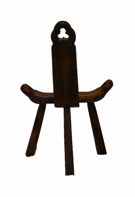 Colonial wooden stool