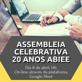 Assembleia Celebrativa 20 anos ABIEE