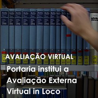 Avaliação Externa Virtual in Loco