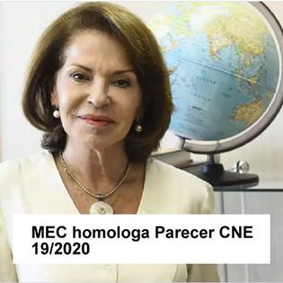 Homologação Parecer CNE 19/2020