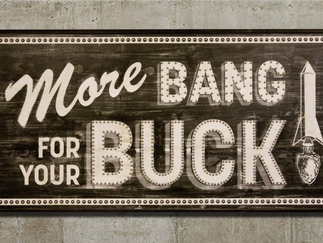Biggest Branding Bang…Smallest Branding Buck
