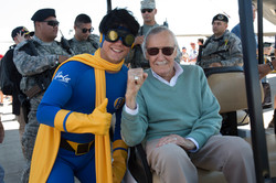 Aviore with Stan Lee