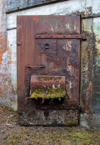 WW2 bunker door