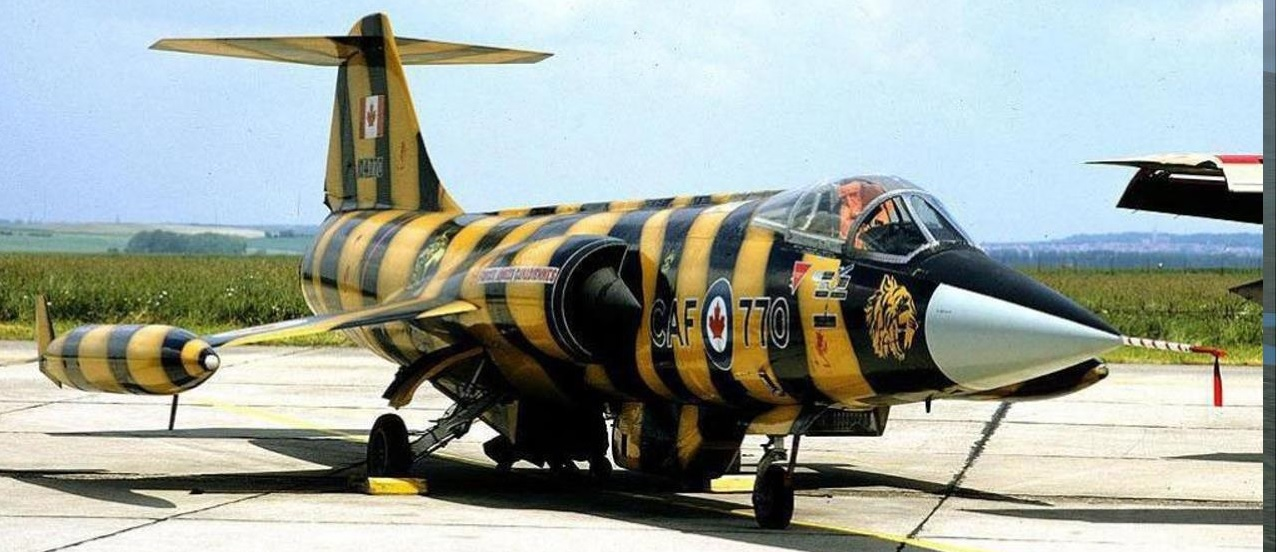 CF-104 NATO Tiger Association Paint