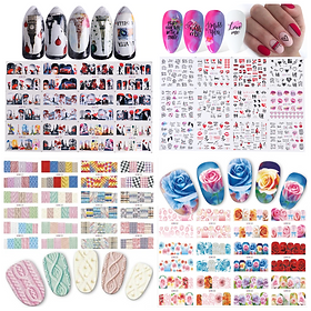 Nail Decals collage