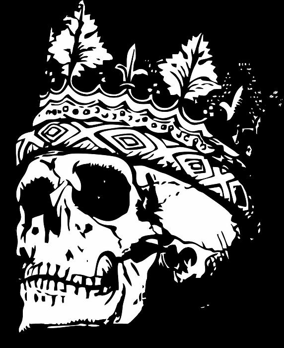 Queen of Envy Skull Crown Logo