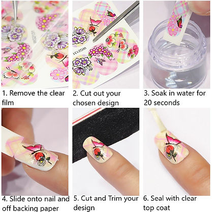 How to apply Nail Art